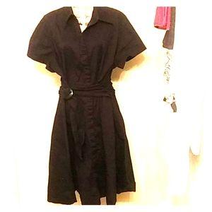 Plus Size Button down dress